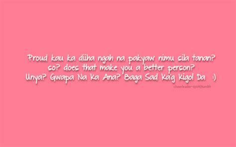 Quotes About In Bisaya bisaya inspiring quotes quotesgram