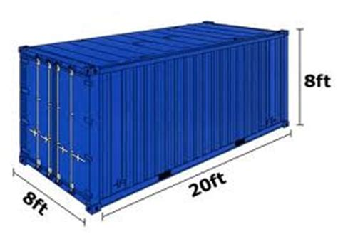 40 Meters To Feet by Containers Sizes Shipping Containers 20ft 40ft Worldwide