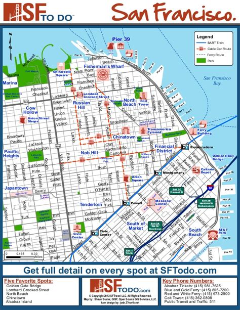 san francisco map travel san francisco tourist map tourism guide