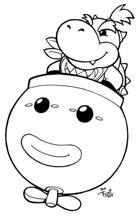 vire coloring pages for adults bowser jr coloring pages for free colouring pages