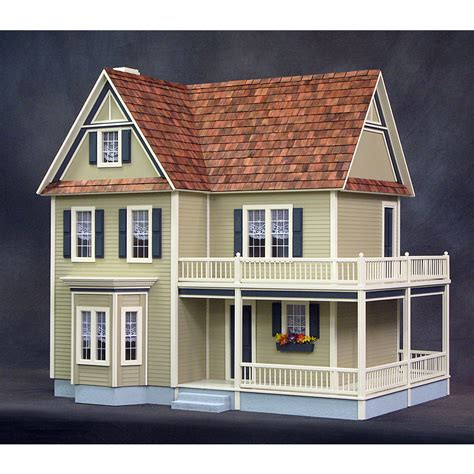realistic doll house victoria s farmhouse dollhouse real good toys free shipping discount doll house