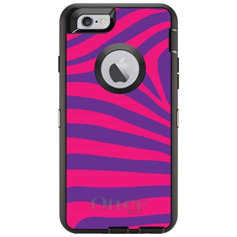 Casing Iphone 7 Warm Bodies Custom custom otterbox defender for iphone 6 6s 7 plus purple pink zebra skin ebay