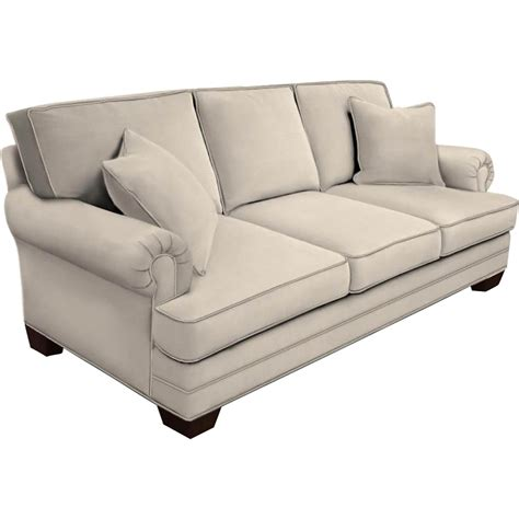 hgtv home design studio by bassett panel arm sofa
