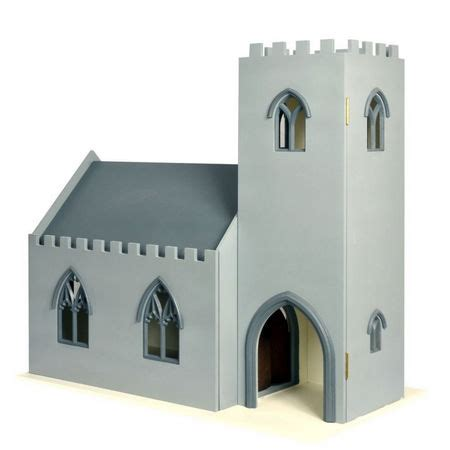 dolls house church church dolls house kit dhw008