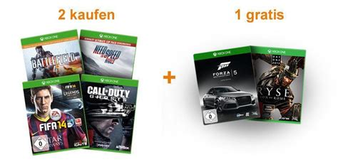 amazon xbox one games deal 2 xbox one games bestellen und 1 weiteres game