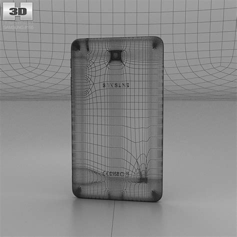 Samsung Galaxy Tab 4 7 0 White samsung galaxy tab 4 7 0 inch white 3d model hum3d