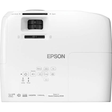 epson v11h561020 powerlite home cinema 2030 2d 3d 1080p