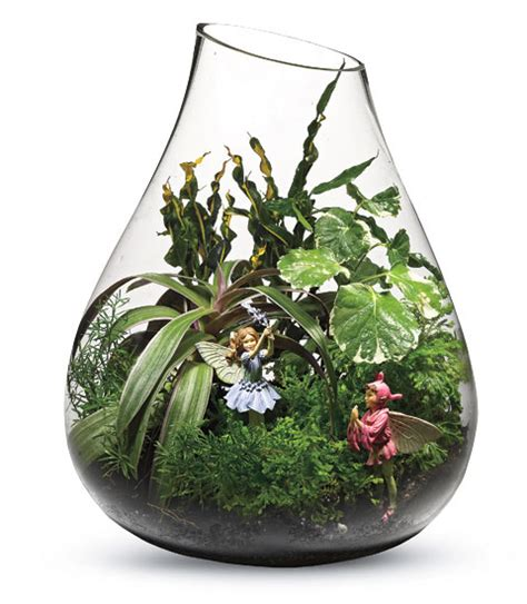 fairy terrarium gardening naturally with miniature gardens tabletop and landscape