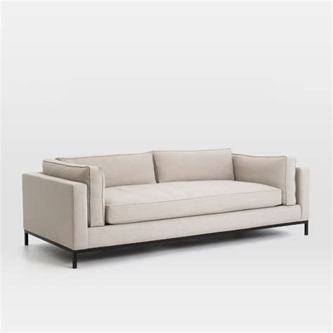 Modern Couches by Modern Arm Sofa 92 Quot West Elm