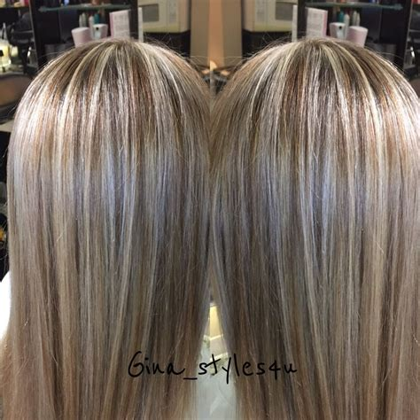 blonde and lowlights for medium straight hair blonde highlights and chocolate golden lowlights soft