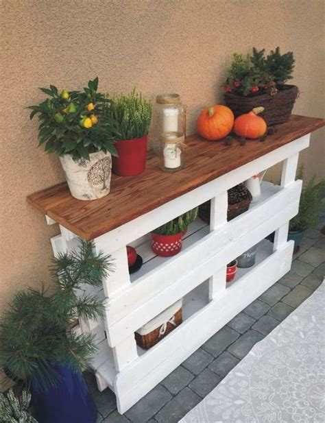 pallet console tables  entryways  living rooms