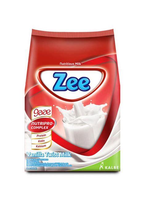 Zee Sachet Zee Bubuk Instant Vanilla Twist Bag 10x40g