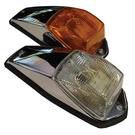 truck cab clearance lights led cab marker light clear truck lite