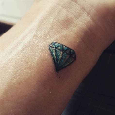 blue diamond tattoo 56 fantastic wrist tattoos