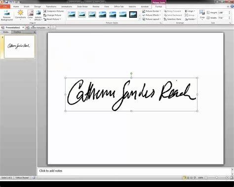 How To Do A Signature On A Word Document
