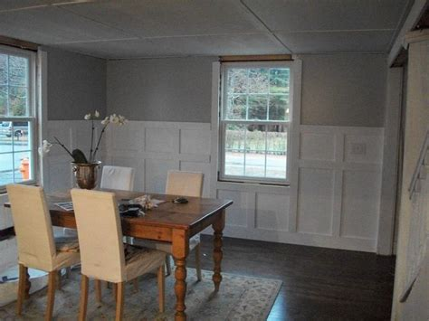 Simple Wainscoting Ideas Simple Wainscoting Projects Caitlin S Basement