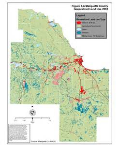 land maps marquette county land use land value and land