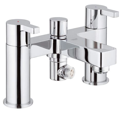 Grohe Lineare Half Inch Deck Mounted Bath Shower Mixer Tap Bathroom Mixer Taps With Shower