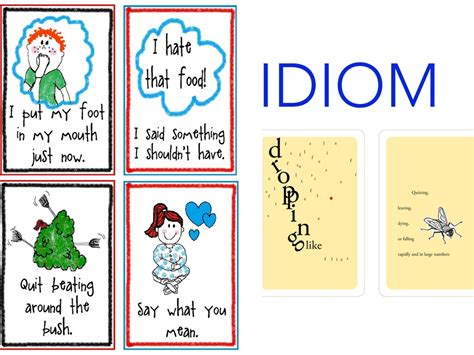 exle of idiom idiom exles language showme