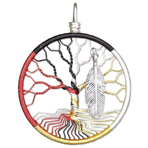 medicine wheel tree of life pendant madamvontrinket s
