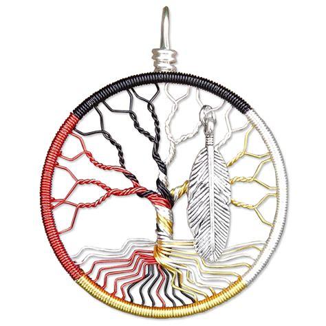 medicine wheel tree of life pendant madamvontrinket s
