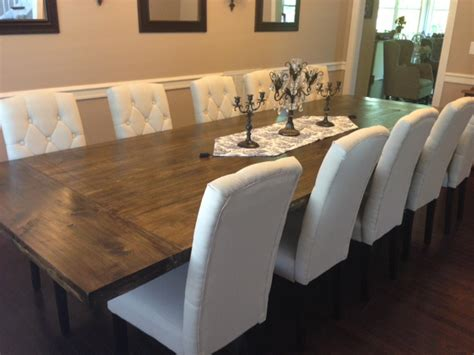 Diy Dining Room Chairs In The House Diy Rustic Dining Room Table Reveal