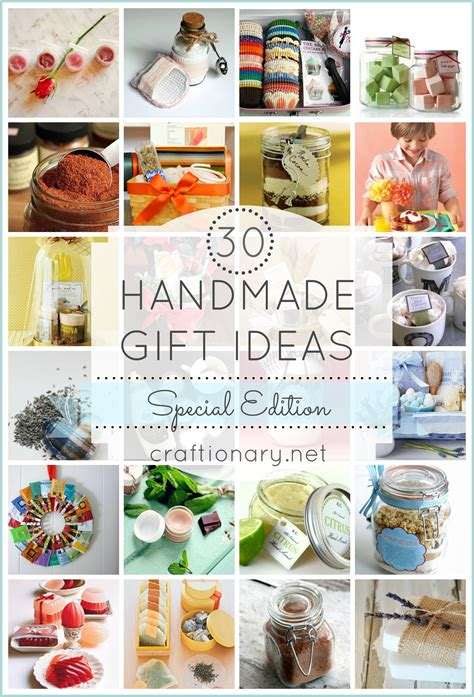 Handcrafted Presents - handmade gift ideas special edition for