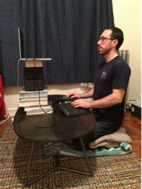 Squatting Desk by Beyond Standing Desks 5 More Ways To Work At A Computer