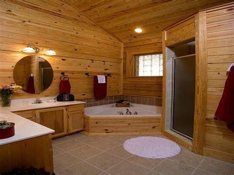 log home interiors log cabin bathroom designs log home