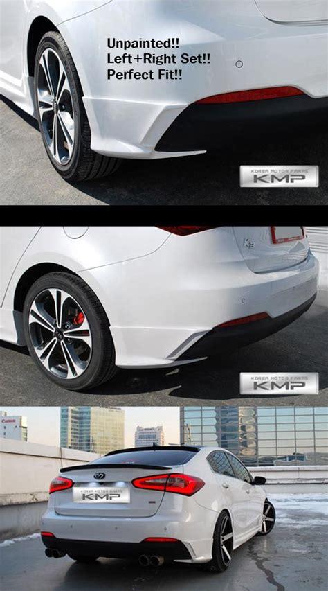 Kia Forte Bumper Price Rear Bumper Bodykit Unpainted Aeroparts For Kia 2013 2015