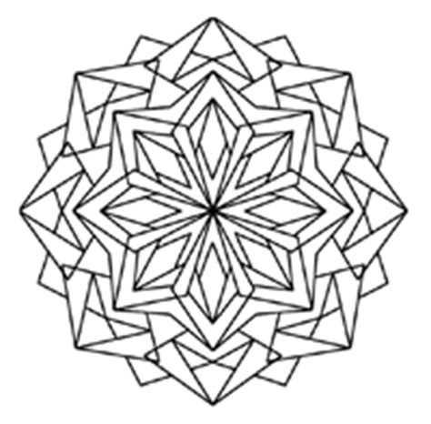 free coloring pages kaleidoscope designs simple kaleidoscope coloring pages coloring pages