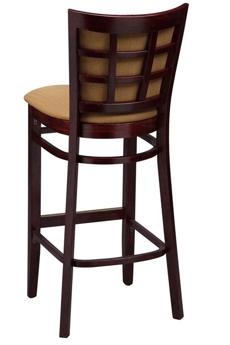 bar stools commercial regal seating series 2411 window pane commercial counter