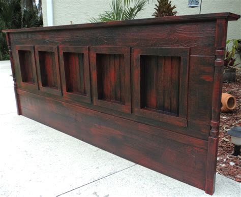 Rustic King Size Headboard by Unavailable Listing On Etsy