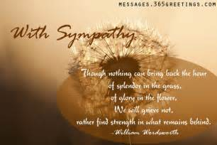 sympathy quotes 365greetings