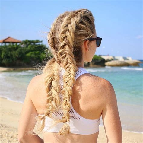 5 double fishtail braids braid love pinterest teen best 25 dutch fishtail braid ideas on pinterest