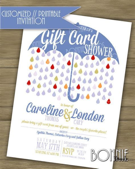 customized wedding shower invitations customized printable s wedding shower