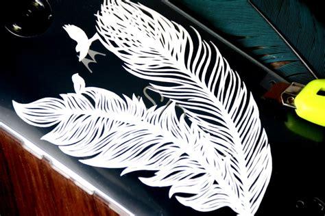 Casing Hp Personal Design Flower And Birds bird feathers for nexus 6 handphone casing cutteristic