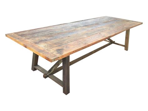 reclaimed wood outdoor dining 10 salvaged reclaimed wood outdoor dining chairish