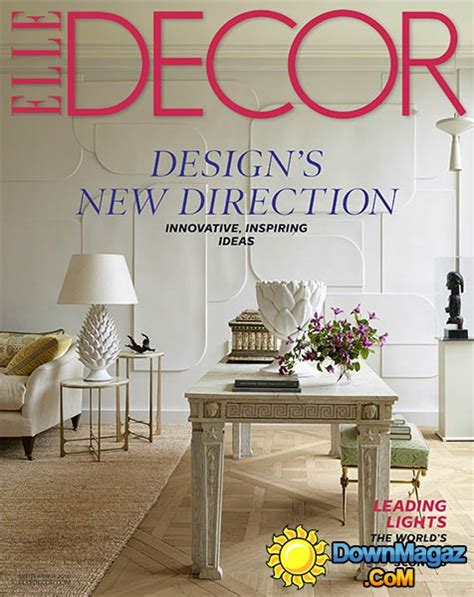 home decor magazines usa elle decor usa september 2016 187 download pdf magazines