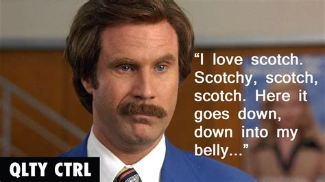 Ron Burgundy Scotch Meme - ron burgundy quotes san diego memes