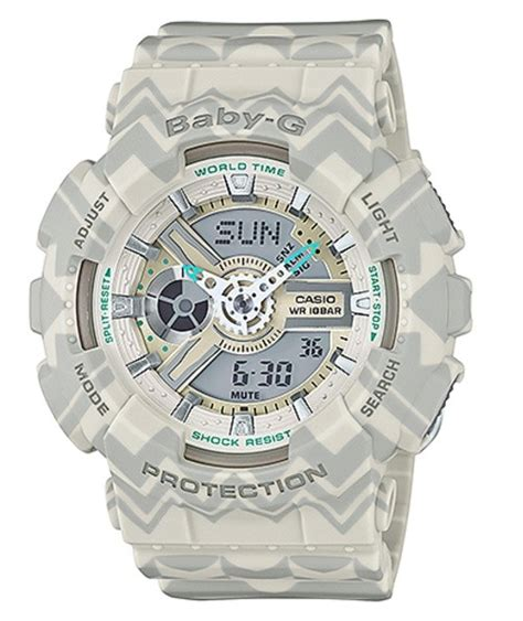 tribal pattern watch casio baby g cream tribal pattern limited edition watch ba