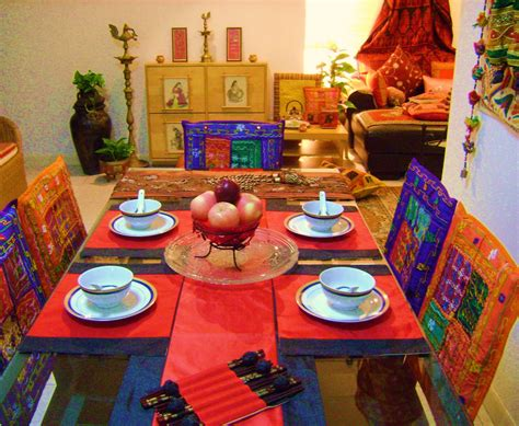 Home Decor In India Ethnic Indian Decor An Ethnic Indian Home In Singapore