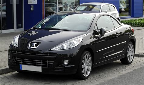 peugeot 207 year 2011 peugeot 207 cc pictures information and specs