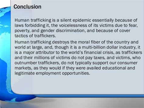 Human Trafficking Essay by Human Trafficking The Issue Versus Propaganda Its Ultimate Solution