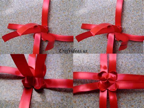 ribbon crafts for fold ribbon lantern tutorial craft ideas