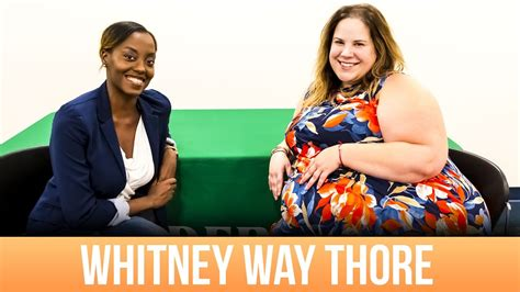 whitney way thore wikipedia the free encyclopedia whitney way thore comes to unc charlotte youtube