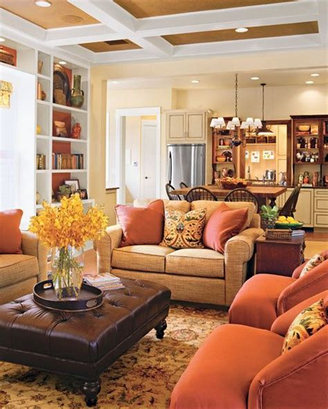 warm home interiors cozy country style living room designs room ideas