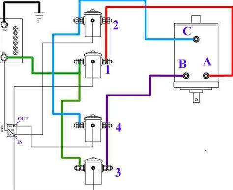 warn winch solenoid wiring diagram warn hs9500i wiring