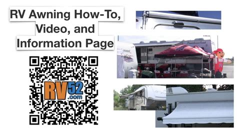 rv electric awning problems rv awning master how to page videos articles manuals