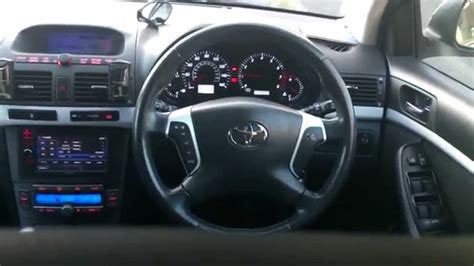 modified interior toyota avensis t25 modified interior